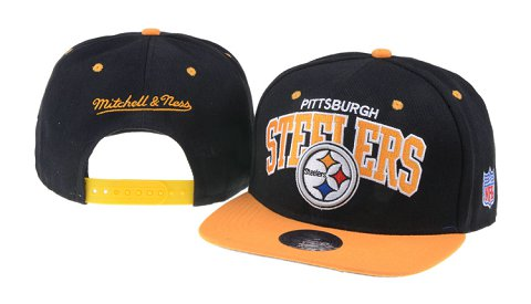Pittsburgh Steelers NFL Snapback Hat 60D5